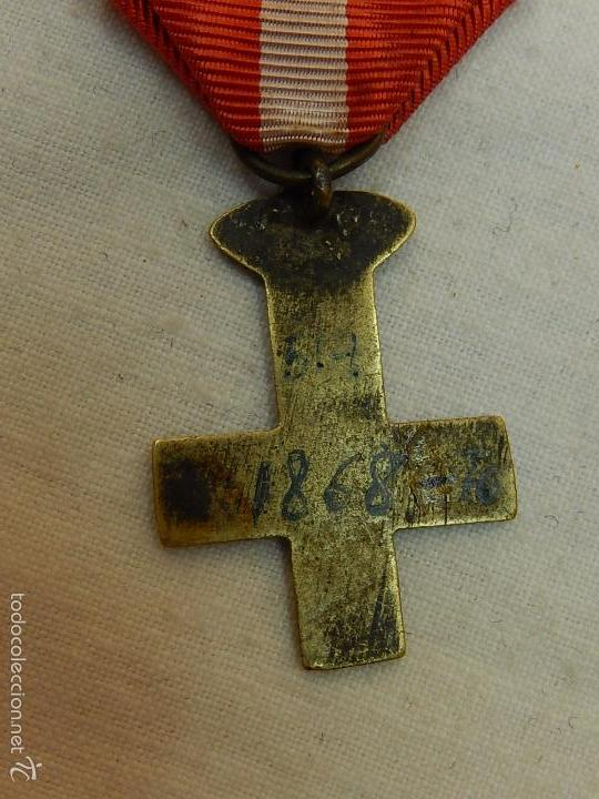 Militaria: Cruz del Mérito Militar Distintivo Rojo. - Foto 5 - 57420119