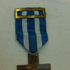Militaria: ITALIA. MEDALLA MÉRITO DE GUERRA, GUERRA CIVIL ESPAÑOLA. MODELO FABRICADO EN ESPAÑA AÑOS 1970 / 80.. Lote 87956192