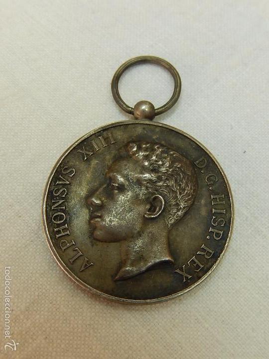 MEDALLA ALFONSO XIII. 1902. (Militar - Medallas Españolas Originales )