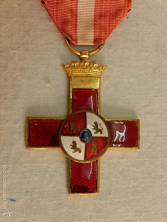 Militaria: Cruz del Mérito Militar, Distintivo Rojo. - Foto 2 - 57421290