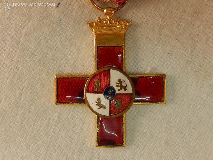 Militaria: Cruz del Mérito Militar, Distintivo Rojo. - Foto 3 - 57421290