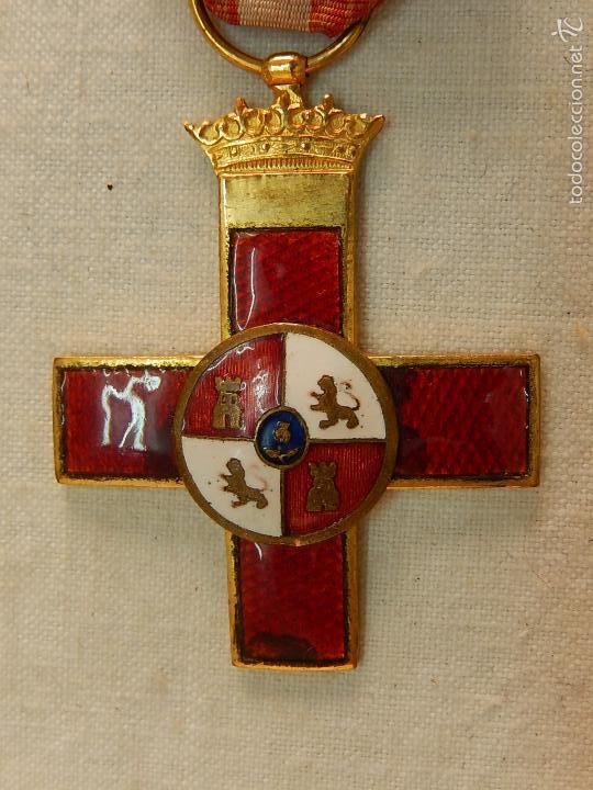 Militaria: Cruz del Mérito Militar, Distintivo Rojo. - Foto 4 - 57421290