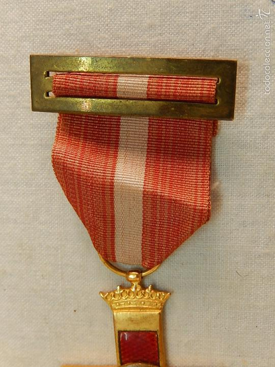 Militaria: Cruz del Mérito Militar, Distintivo Rojo. - Foto 5 - 57421290