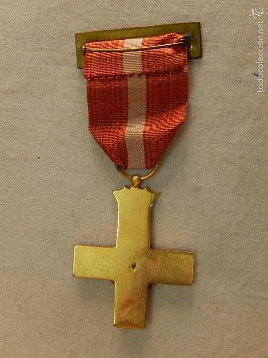Militaria: Cruz del Mérito Militar, Distintivo Rojo. - Foto 6 - 57421290