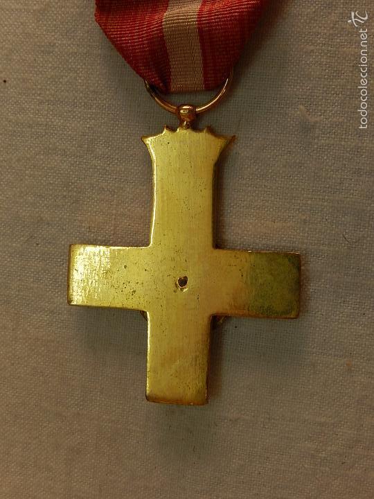 Militaria: Cruz del Mérito Militar, Distintivo Rojo. - Foto 7 - 57421290