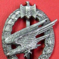 Militaria: HEER - PARACAIDISTA. ARMY PARATROOP BADGE. FALLSCHIRMSCHÜTZEN-ABZEICHEN DES HEERES. REPLICA CALIDAD. Lote 55710325
