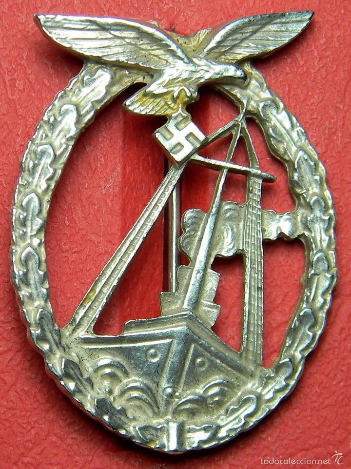 REPLICA ALTA CALIDAD - LUFTWAFFE LUCHA MARÍTIMA (Militar - Reproducciones y Réplicas de Medallas )