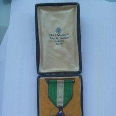 Militaria: MEDALLA DE LA ORDEN MEHDAUIA , ORIGINAL DE PLATA EN SU CAJA, FABRICADA POR CRAVANZOLA, ROMA , ITALIA. Lote 57519651