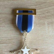 Militaria: PRECIOSA MEDALLA DEL SAHARA CON UN PERFECTO ESMALTADO INCLUYE SU CAJA. Lote 95392038