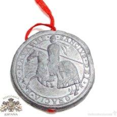 Militaria: MEDALLA - SELLO DE PLOMO - SANCIVS DEI GRACIA REX NAVARRE. Lote 57544512
