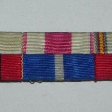 Militaria: PASADOR DE 6 CINTAS, TAL Y COMO SE VE EN LAS FOTOGRAFIAS PUESTAS.. Lote 57588614