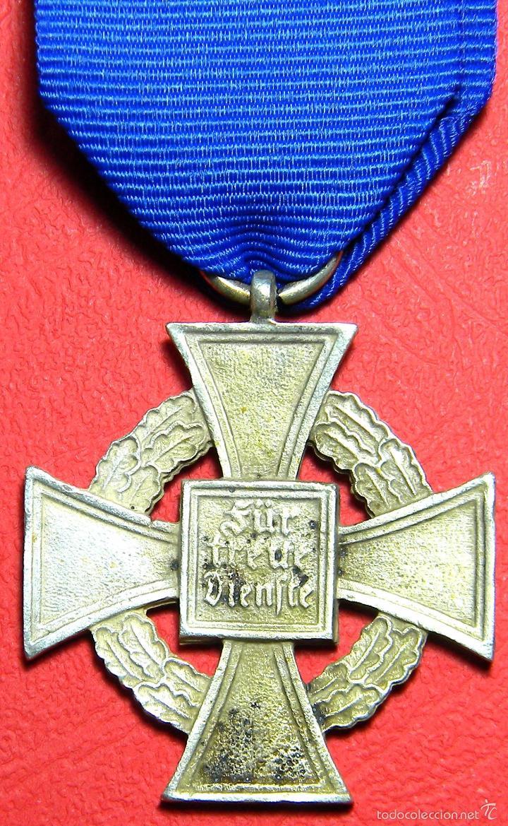 Militaria: Replica museum - Treudienst Ehrenzeichen - Medalla 40 años de servicio - III Reich - Foto 2 - 53984697