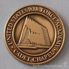 Militaria: MEDALLA MONEDA DE UNITED STATES AIR FORCE ( FUERZAS AEREAS DE LOS ESTADOS UNIDOS DE AMERICA ) CHAPEL. Lote 57764264