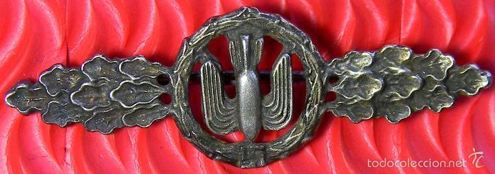 REPLICA MUSEUM - LUFTWAFFE - PASADOR DE PILOTO DE BOMBARDEROS - FRONTFLUGSPANGE FÜR KAMPF - STURZKAM (Militar - Reproducciones y Réplicas de Medallas )