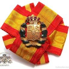Militaria: LAZO PAZ PAZ PAZ SIEMPRE, ALFONSO XIII - ESMALTADO. Lote 57999763