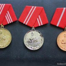 Militaria: LOTE 3 MEDALLAS ALEMANIA. Lote 58132779