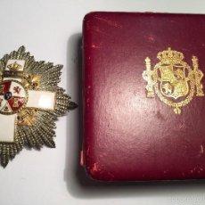 Militaria: GRAN CRUZ MERITO MILITAR ALFONSO XIII ORO Y PLATA CASTELL. Lote 58155757