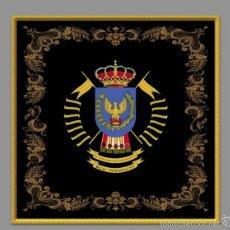 Militaria: AZULEJO 15X15 CON FONDO NEGRO DEL REGIMIENTO DE CABALLERIA Nº9 NUMANCIA.. Lote 71845882
