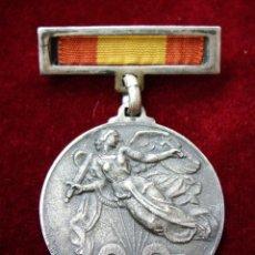 Militaria: MEDALLA DE PLATA DEL ALZAMIENTO Y VICTORIA - RARA. Lote 58366881