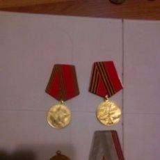 Militaria: URSS. LOTE 4. CUATRO MEDALLAS. Lote 58401162