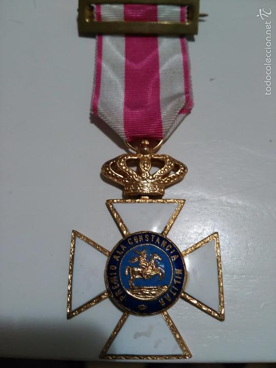 Militaria: MEDALLA DE LA ORDEN DE SAN HERMENEGILDO - PREMIO A LA CONSTANCIA MILITAR - MONARQUIA JUAN CARLOS I - Foto 3 - 58560322