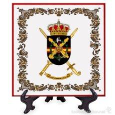 Militaria: AZULEJO 15X15 DE LA BRIGADA «REY ALFONSO XIII» II DE LA LEGIÓN. Lote 58640298