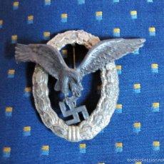 Militaria: PLACA ALEMANA SEGUNDA GUERRA MUNDIAL WWII (REPRODUCCIÓN ANTIGUA). Lote 58744588