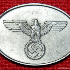 Military - Placa de identificación Staatlichen Kriminalpolizei. - Material: German Silver - Plata - 59427825