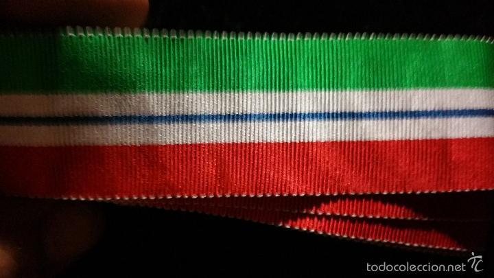 CINTA PARA LA MEDALLA DE GUINEA (Militar - Cintas de Medallas y Pasadores)