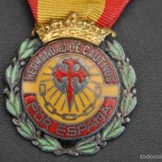 Militaria: MEDALLA HERMANDAD DE -CAUTIVOS POR ESPAÑA.. Lote 59696955