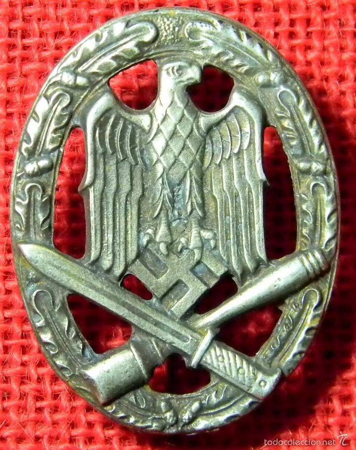 HEER ASALTO GENERAL. ALLGEMENIES STURMABZEICHEN - REPRO ALTA CALIDAD CON MARCAJE (Militar - Reproducciones y Réplicas de Medallas )