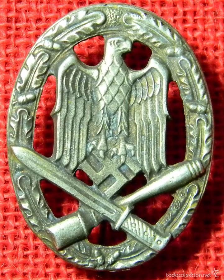 Militaria: Heer Asalto general. Allgemenies Sturmabzeichen - Repro alta calidad con marcaje - Foto 2 - 71208602