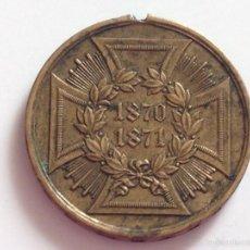 Militaria: MEDALLA CRUZ DE HIERRO. ALEMANIA. 1870-1871. Lote 60804391