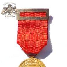 Militaria: MEDALLA CIUDAD DE ZARAGOZA EN ORO DE 18 KILATES. Lote 61204771