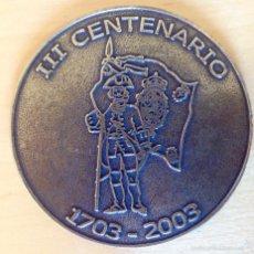 Militaria: MEDALLA CONMEMORATIVA DEL TERCER ANIVERSARIO DEL REGIMIENTO DE INFANTERIA ASTURIAS 31. Lote 61317847