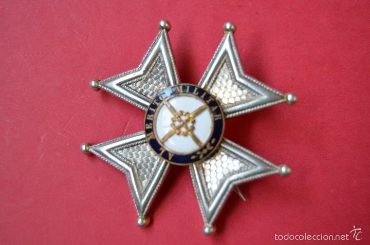 ORDEN PLACA DE SAN FERNANDO (Militar - Medallas Españolas Originales )