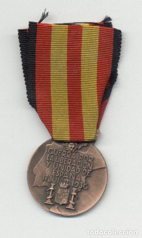 MEDALLA CTV GUERRA POR LA LIBERACION Y UNIDAD DE ESPAÑA (Militar - Reproducciones y Réplicas de Medallas )