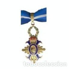 Militaria: PRECIOSA ENCOMIENDA DE LA ORDEN DEL MERITO CIVIL CATEGORIA ORO OFICIAL. Lote 148351077