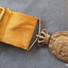 Militaria: MEDALLA DE MARRUECOS, VARIANTE TROQUEL REV. DE MELILLA. Lote 62050684
