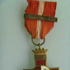 Militaria: DIVISION AZUL : MEDALLA DEL CRUZ DEL MERITO MILITAR CON BARRITA, EPOCA DE FRANCO. Lote 62102328