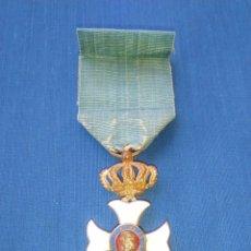 Militaria: MEDALLA ORDEN DE MARIA ISABEL LUISA 1839 PARA OFICIAL.. Lote 62739076