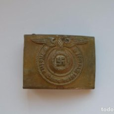 Militaria: WWII THE GERMAN BUCKLE WAFFEN SS STEEL. Lote 194364795
