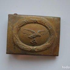Militaria: WWII THE GERMAN BUCKLE LUFTWAFFE STEEL. Lote 293966588