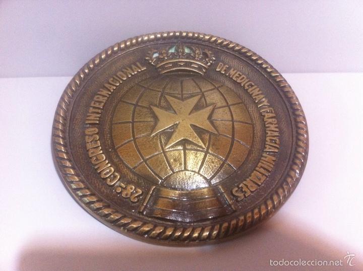 METOPAS SIN MADERA 28 CONGRESO FARMACIA (Militar - Medallas Españolas Originales )