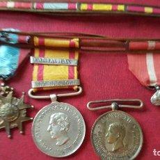 Militaria: PASADOR MEDALLAS GUERRAS CARLISTAS GOBIERNO PROVISIONAL CANTAVIEJA SEU DE URGEL. Lote 63662647