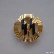Militaria: WWII THE GERMAN BADGE GERMANIC PROFICIENCY RUNES SS WAFFEN SS. Lote 132839127