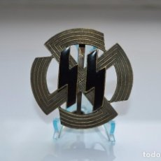 Militaria: WWII THE GERMAN BADGE GERMANIC PROFICIENCY RUNES SS WAFFEN SS. Lote 168018958