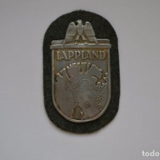 Militaria: WWII THE GERMAN LAPPLAND SHIELD. Lote 169597430