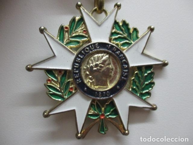 Militaria: MEDALLA FRANCESA - REPUBLIQUE FRANCAISE 1870 - HONNEUR ET PAT RIE - Foto 2 - 64632171