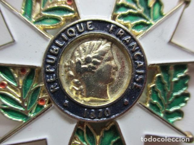 Militaria: MEDALLA FRANCESA - REPUBLIQUE FRANCAISE 1870 - HONNEUR ET PAT RIE - Foto 3 - 64632171